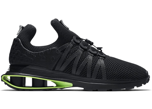 Nike Shox Gravity Luxe Black Green Strike - AR1470-003 fc01865f6