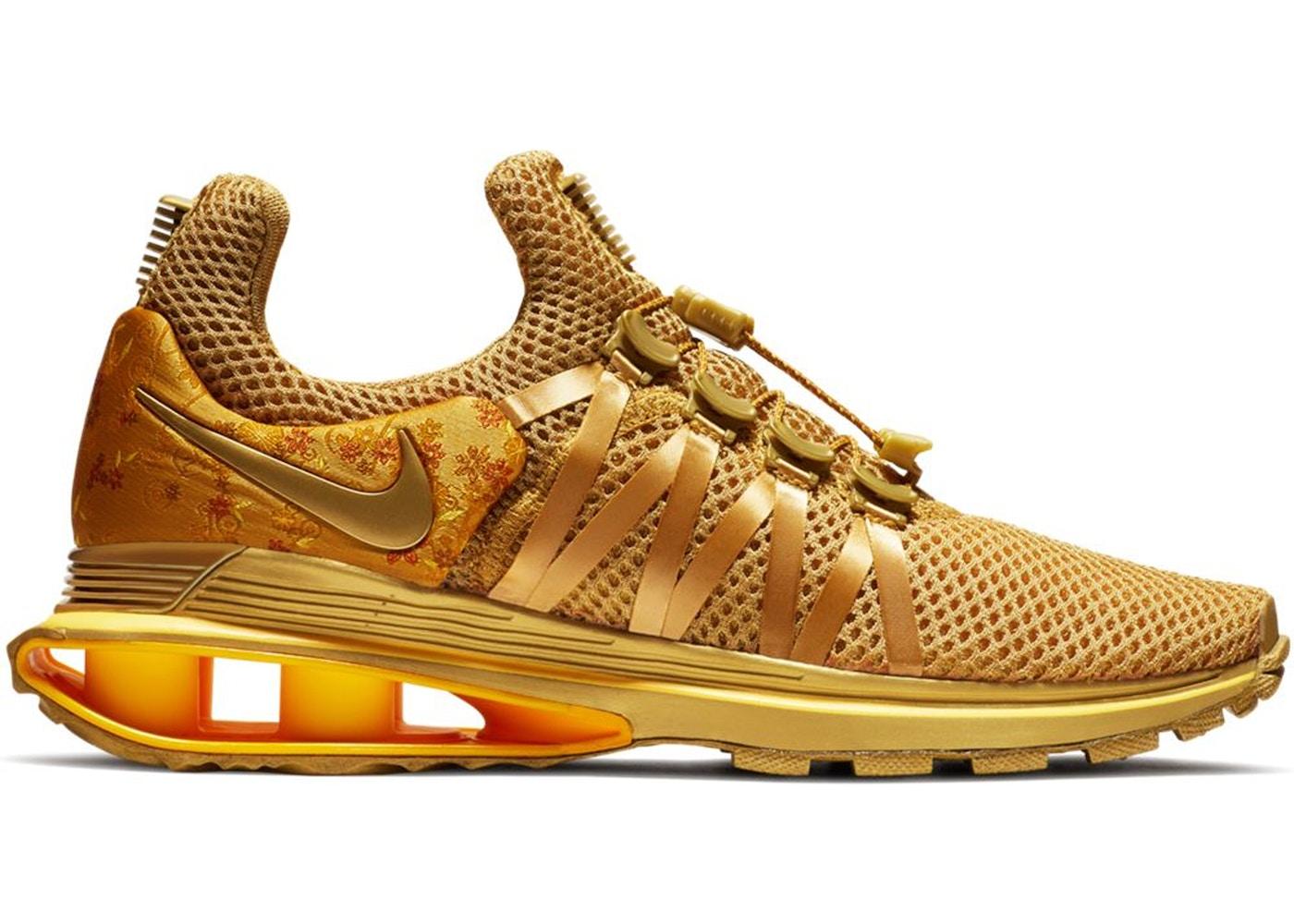 3390efc3bf34 Nike Shox Gravity Metallic Gold (W) - AQ8554-700