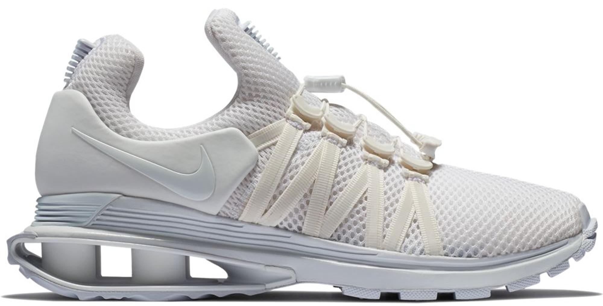 Nike Shox Gravity Triple White (W