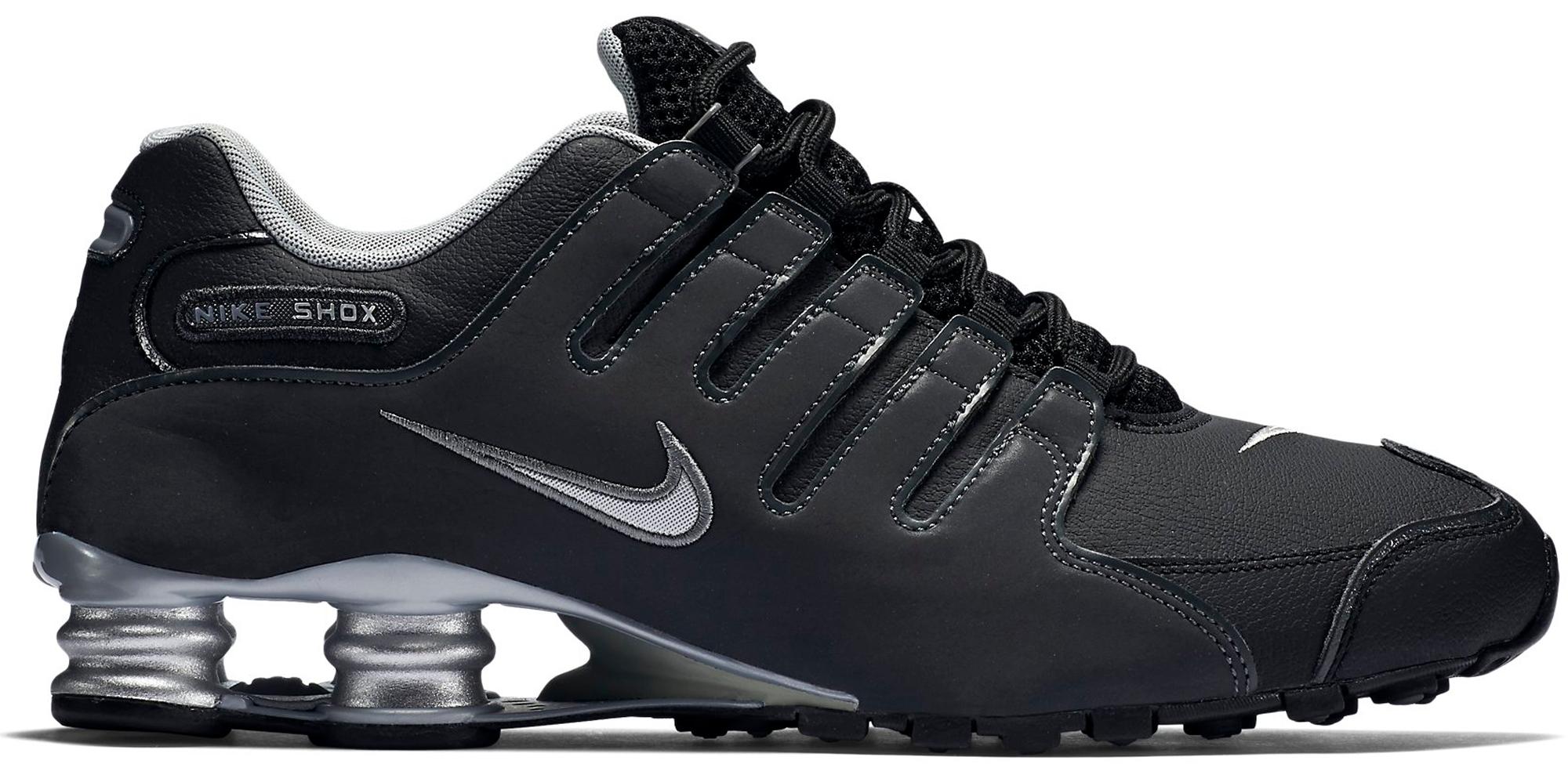 Nike Shox NZ Black Silver - 501524-024