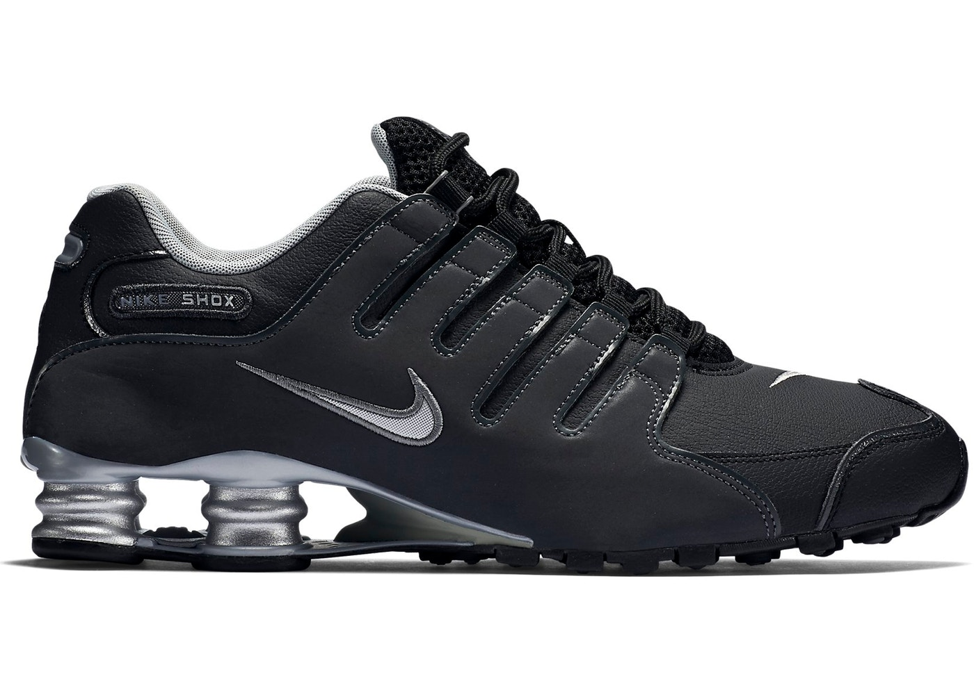 dd3e4e704bb Sell. or Ask. Size  13. View All Bids. Nike Shox NZ Black Silver
