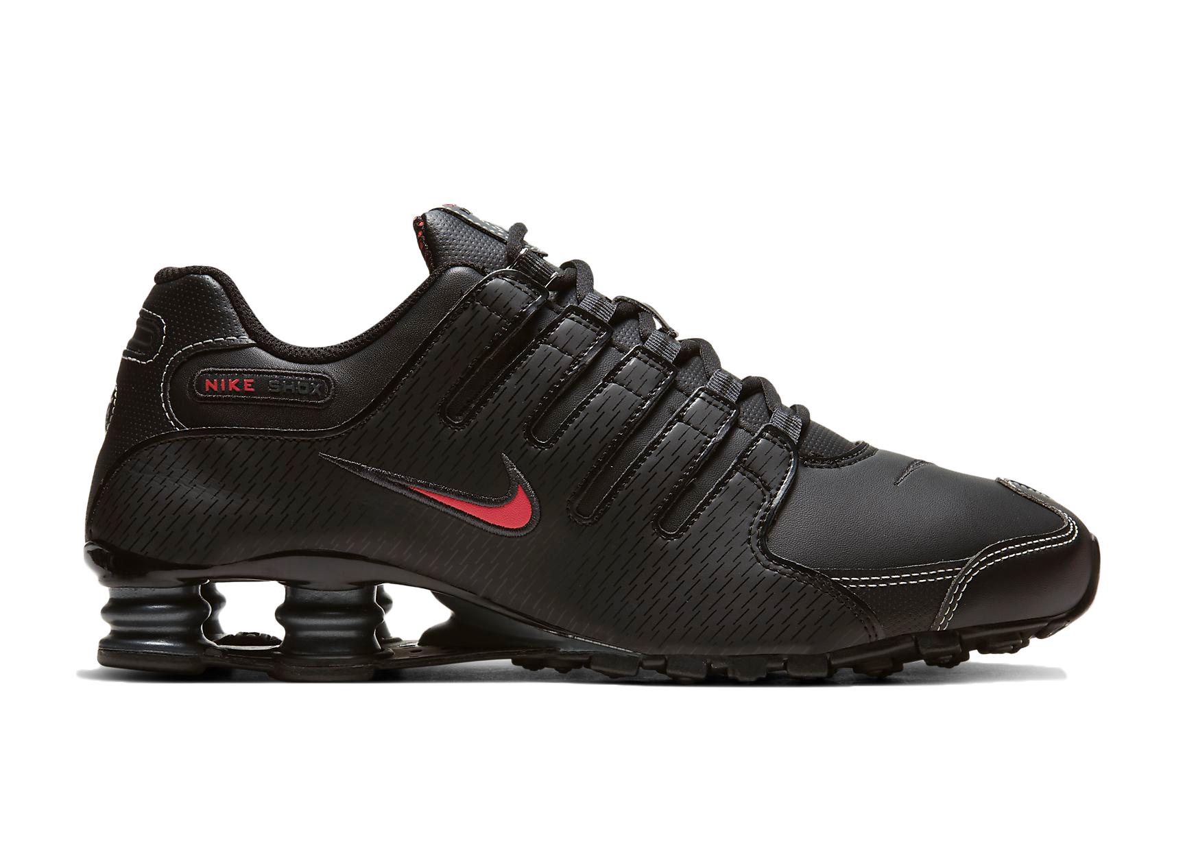 Nike Shox NZ Black Varsity Red - 378341-017