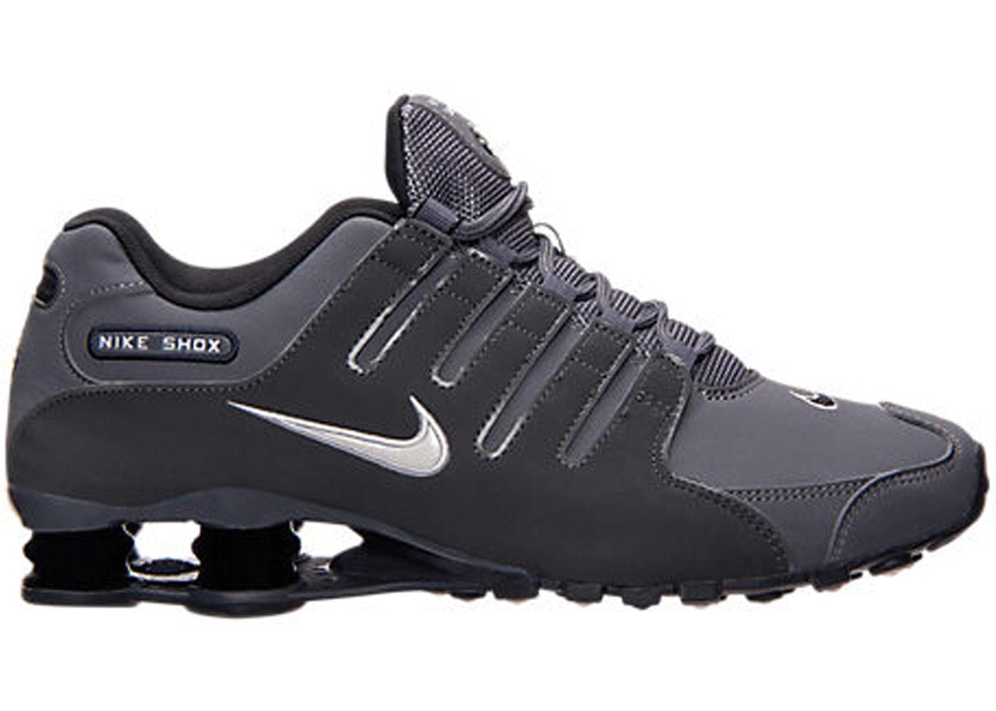 half off 3e188 190ce Nike Shox NZ Dark Grey - 378341-059