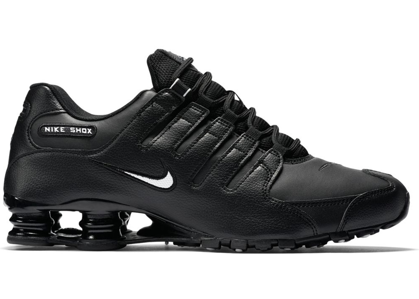 buy popular 98ad7 5b69a Nike Shox NZ EU Black White