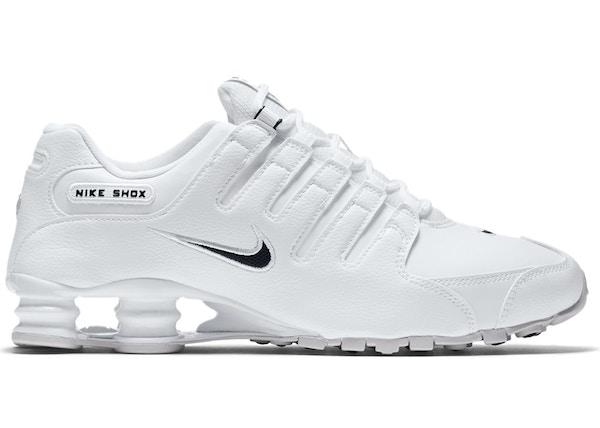 new arrival acae4 42ef3 ... Nike Shox NZ EU White Black - 501524-106 ...