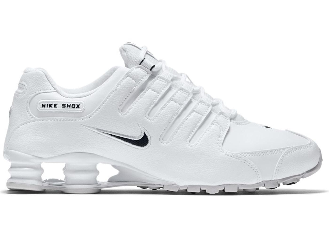 wholesale dealer d5586 f1de5 Nike Shox NZ EU White Black — HypeAnalyzer