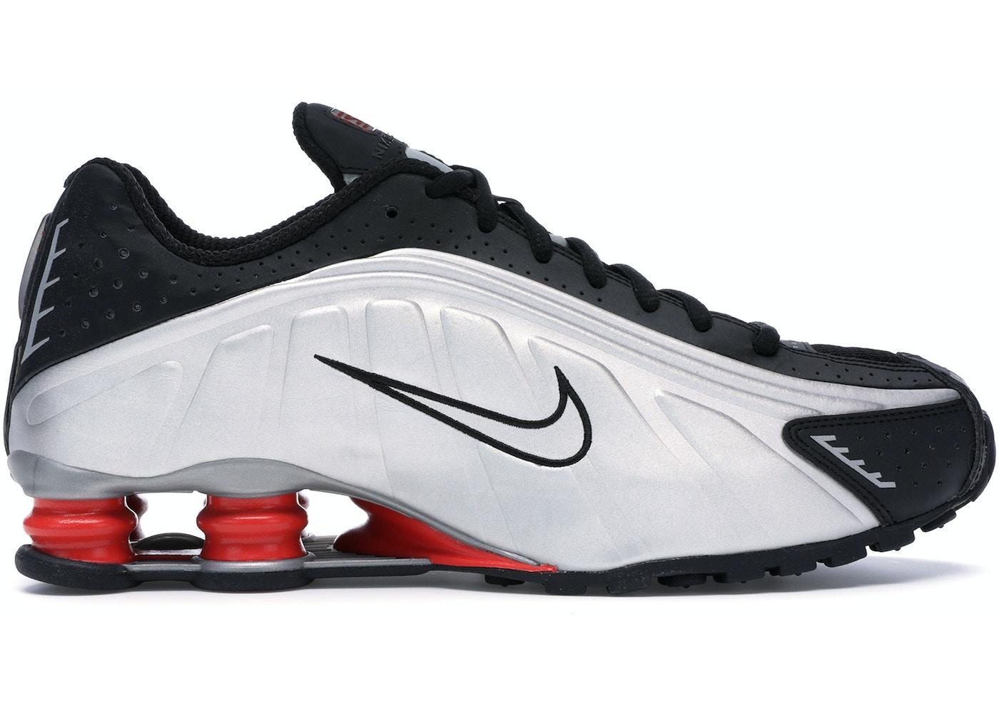 release date: fe85d d6d83 Nike Shox R4 Black Metallic Silver (2018)