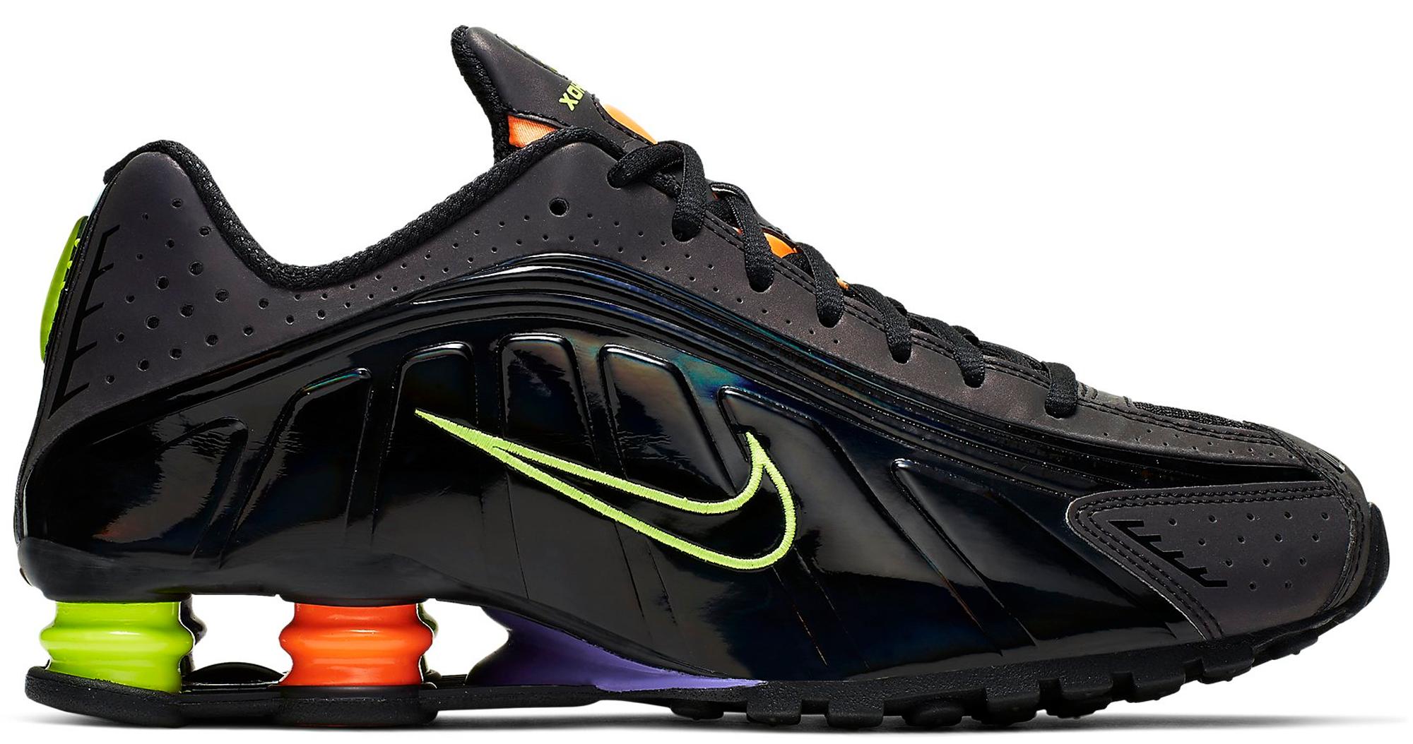 Nike Shox R4 Gel Black Neon - CI1955-074