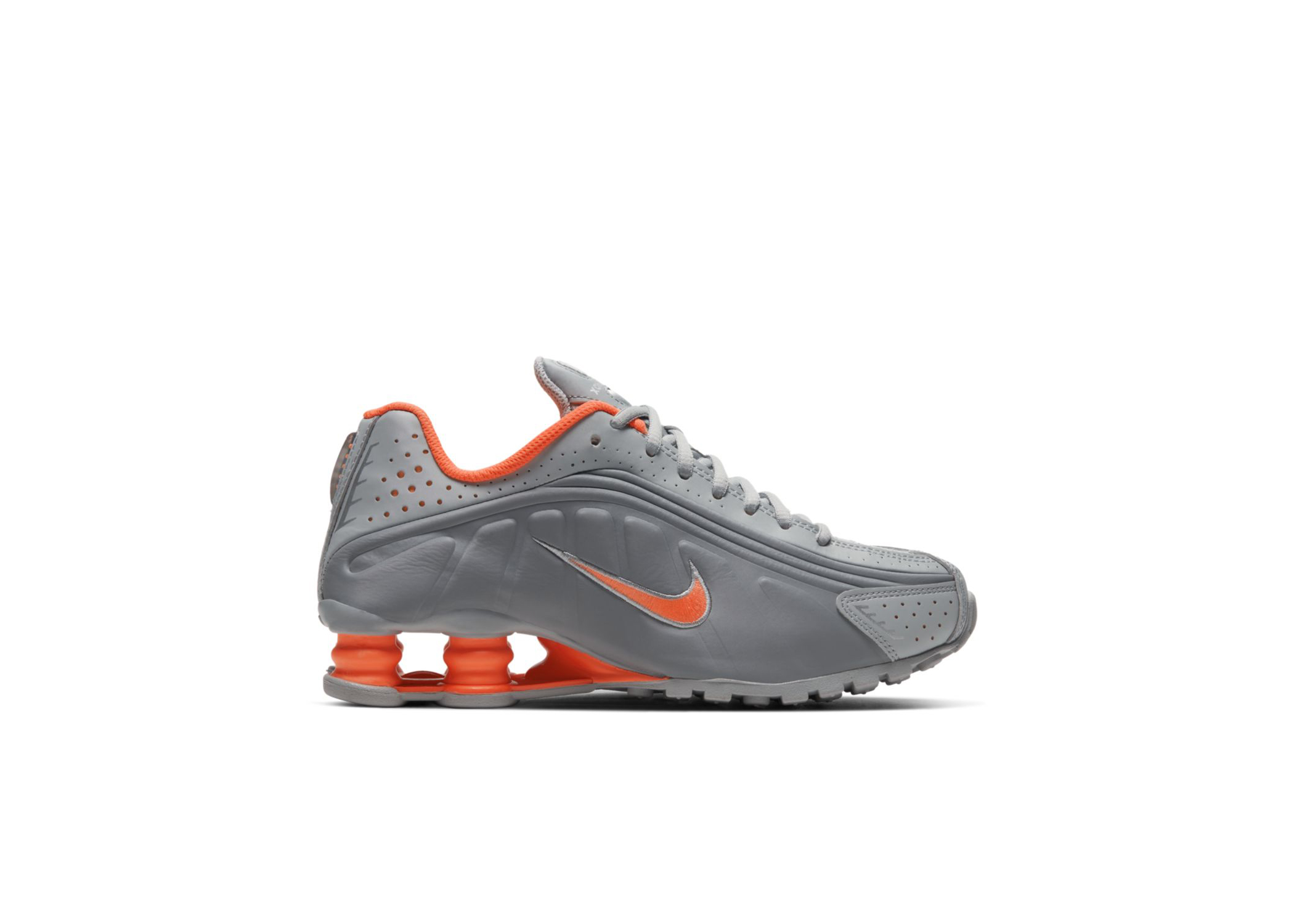 Nike Shox R4 Light Smoke Grey (GS