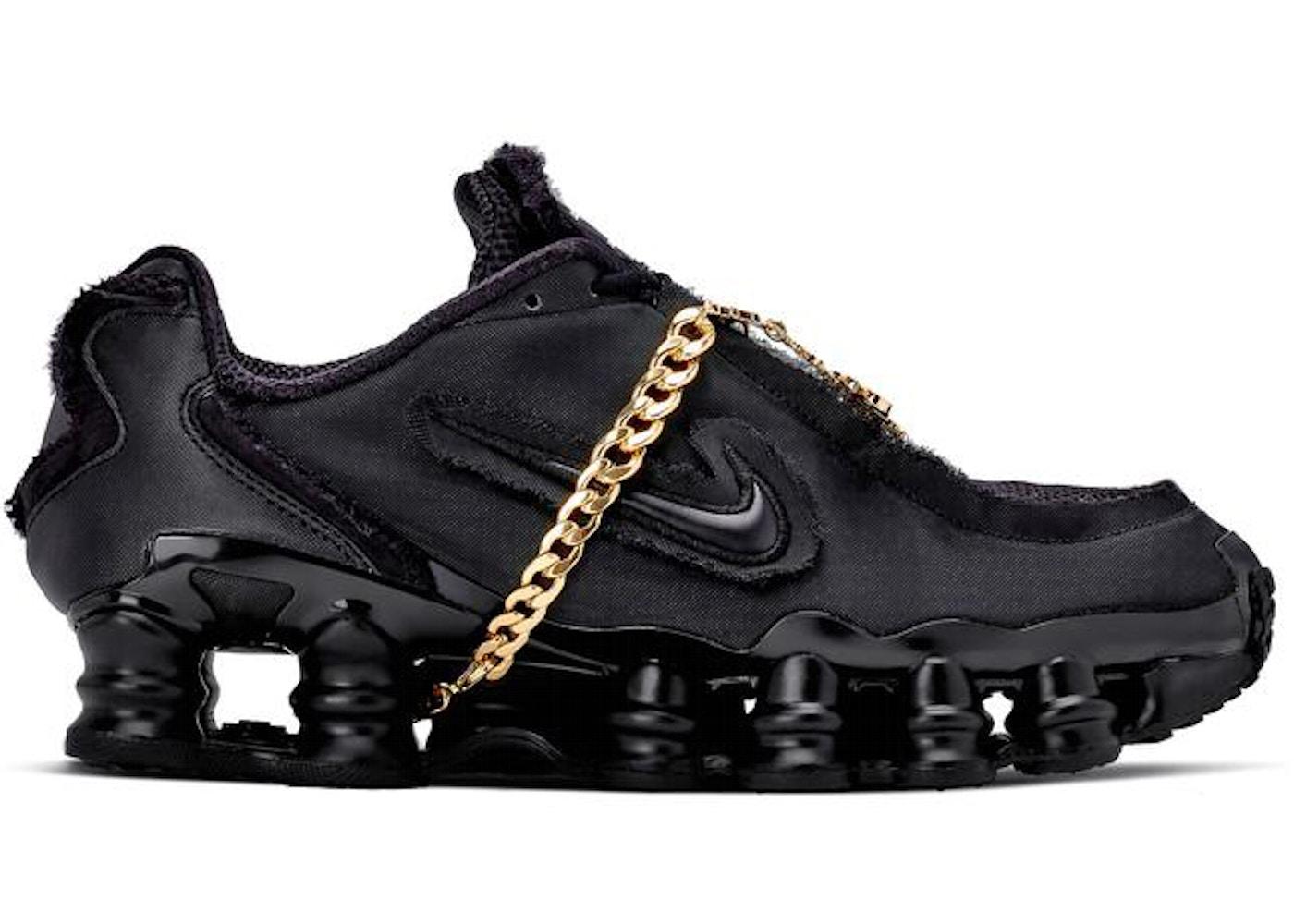 nouveau produit b218a 560ee Nike Shox TL Comme des Garcons Black (W)