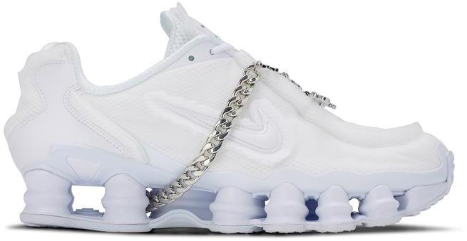 Nike Shox TL Comme des Garcons White (W)