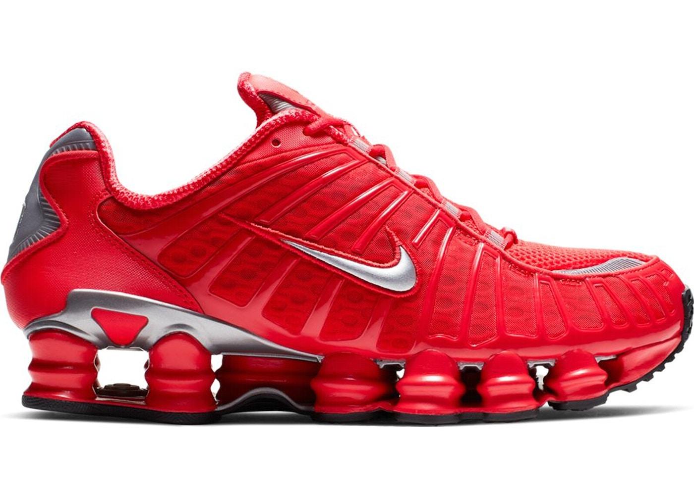 100% authentic b72d0 5b6b9 Nike Shox TL Speed Red