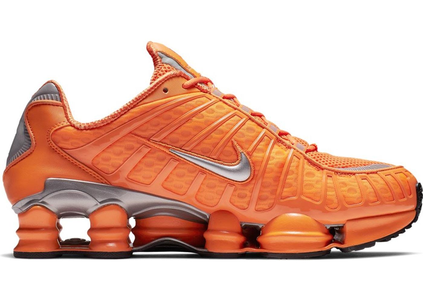 save off a6ac3 7b437 Nike Shox TL Total Orange - BV1127-800