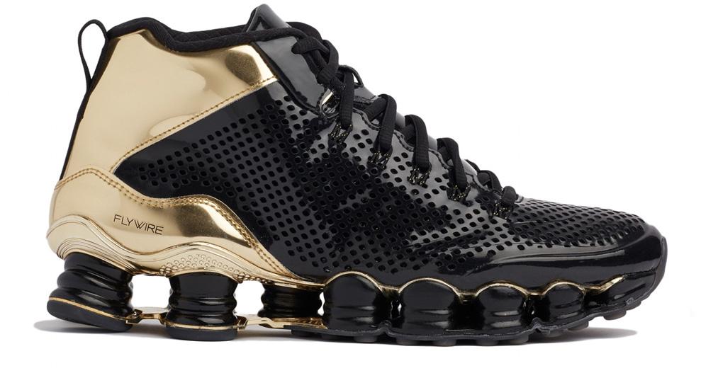 Nike Shox TLX Mid SP Black Gold
