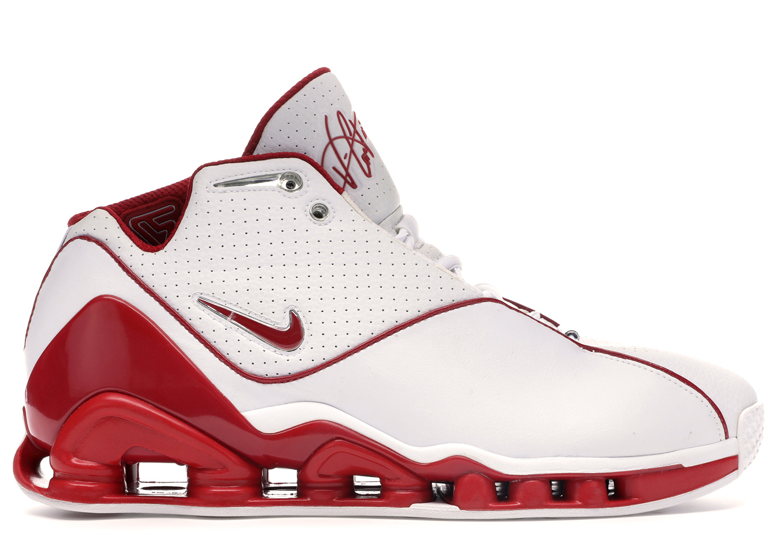 Nike Shox VC 2 White Red - 305078-161
