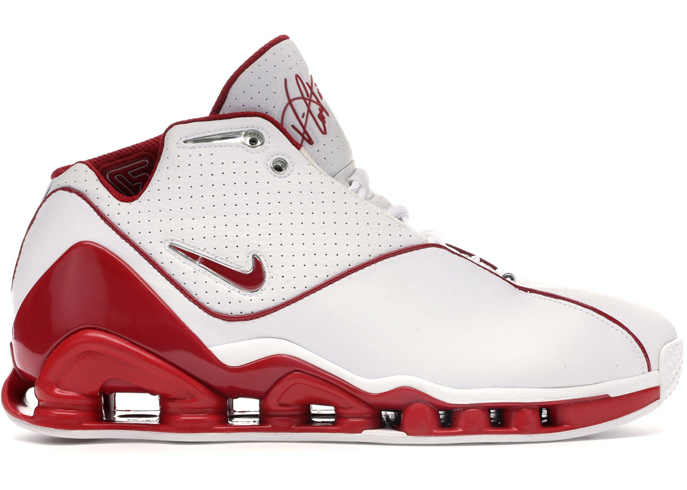 new product ef3dd e1de9 Nike Shox VC 2 White Red - 305078-161