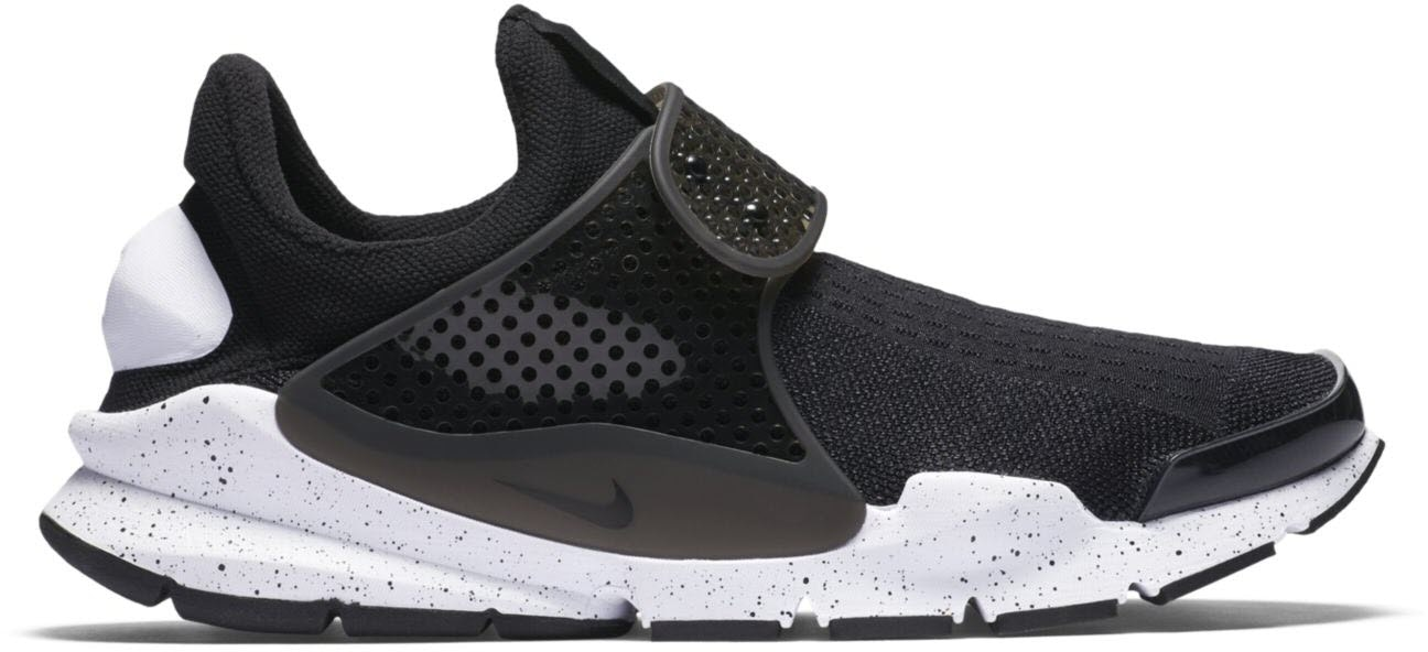 Nike Sock Dart Black White