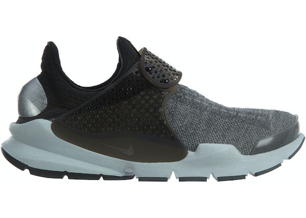 half off 3d939 2690d Nike Sock Dart Se Premium Dark Grey Black-Pure Platinum - 859553-002