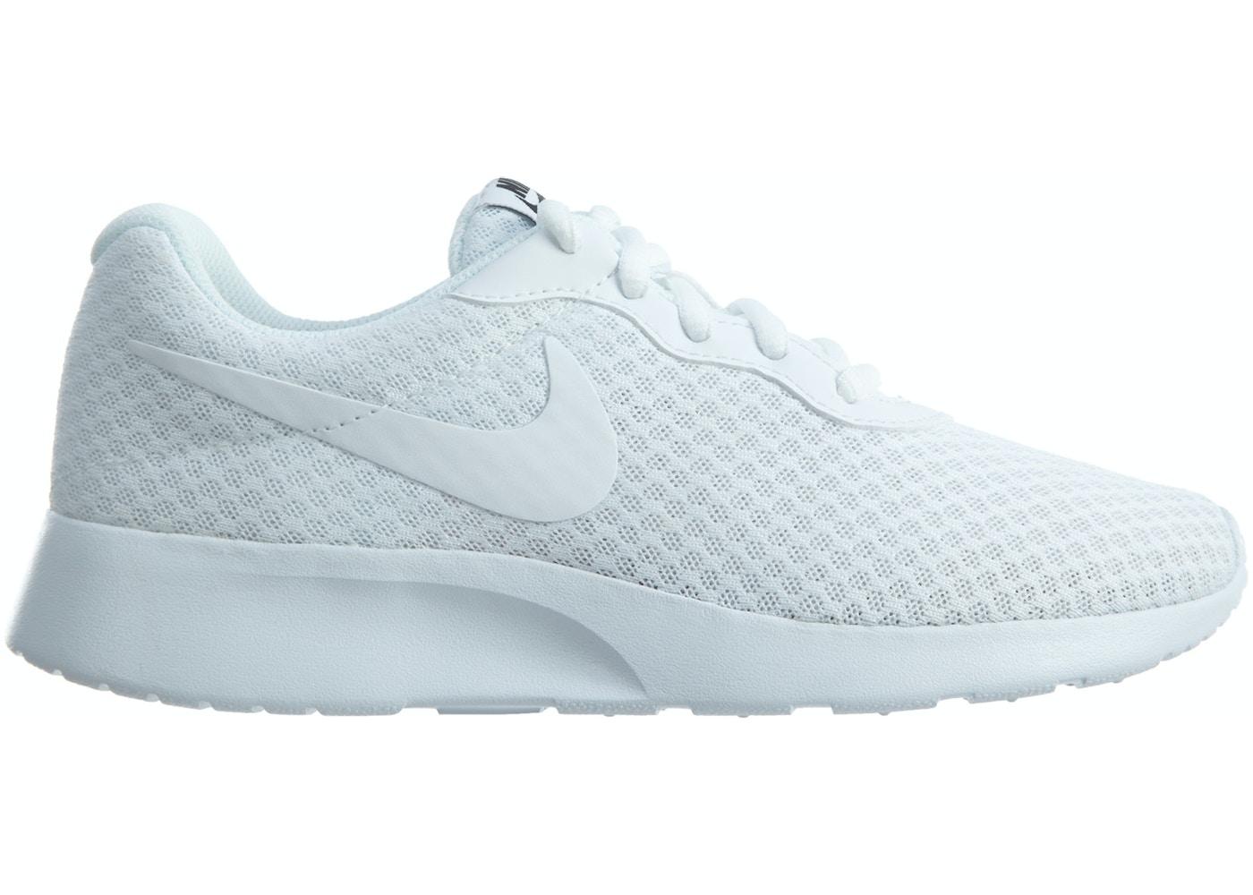 1162e6f40575 Nike Tanjun White White-Black (W) - 812655-110