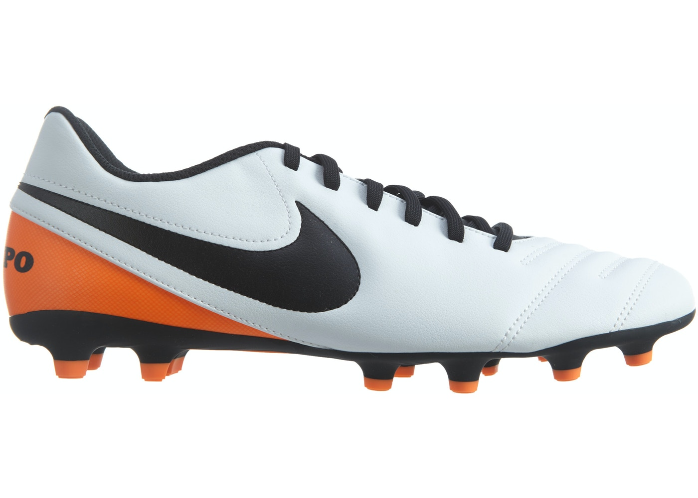 online store 64ad0 693e9 Nike Tiempo Rio III Fg White Black-Total Orange - 819233-108