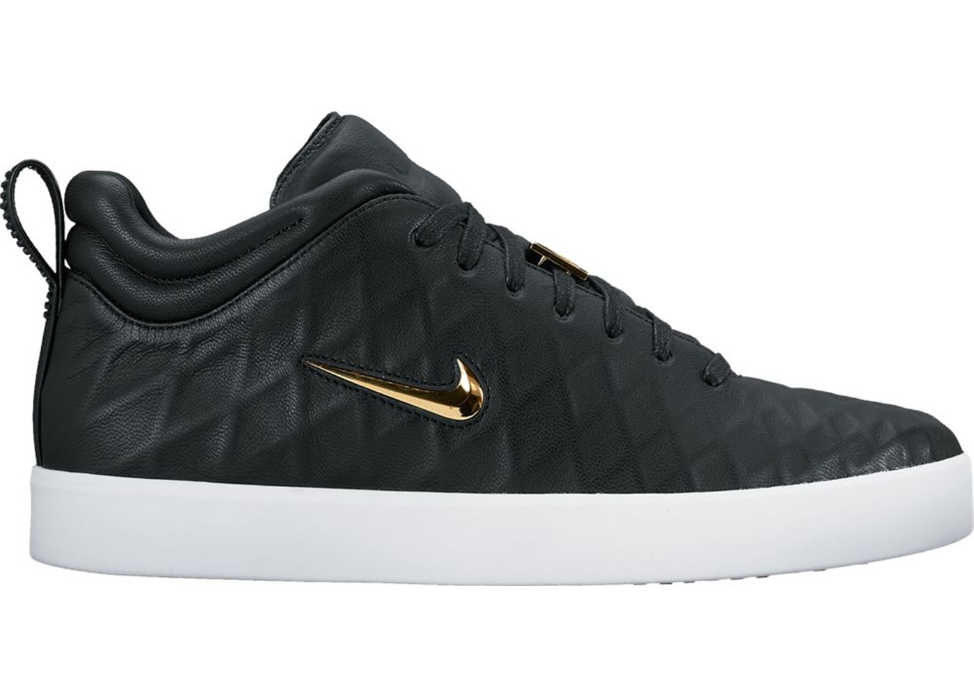 sale retailer 587f4 26742 Nike Tiempo Vetta 17 Black White Metallic Gold