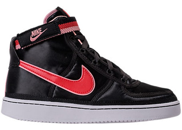 86d073243159 Nike Vandal High Supreme Black Speed Red Bleached Coral (GS)