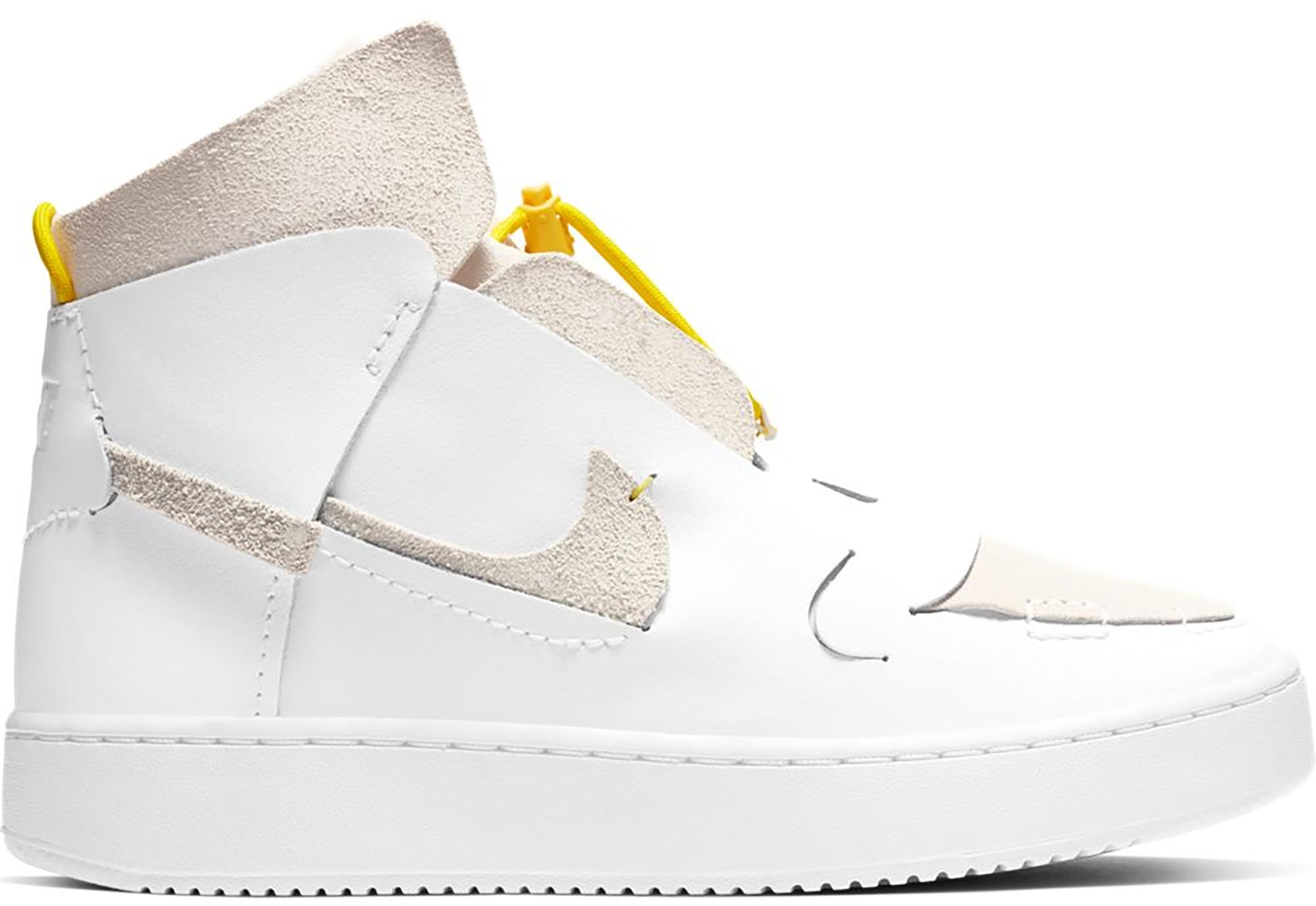 Nike Vandalised LX White Chrome Yellow