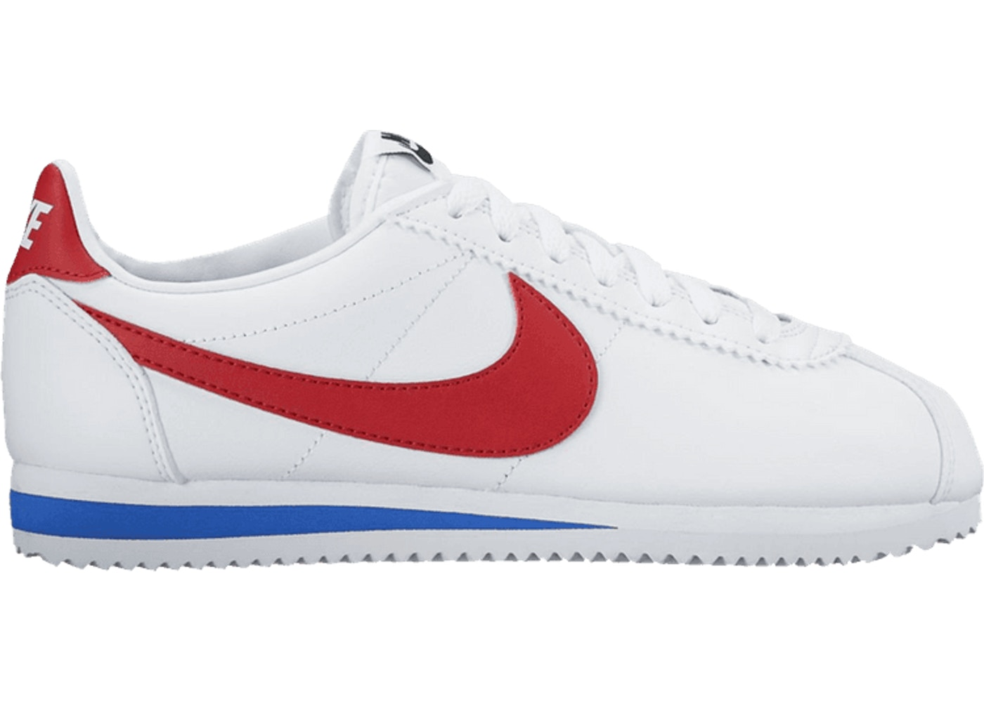 100% authentic 52b9b e45a4 Nike WMNS Classic Cortez Leather White Red Blue - 807471-103