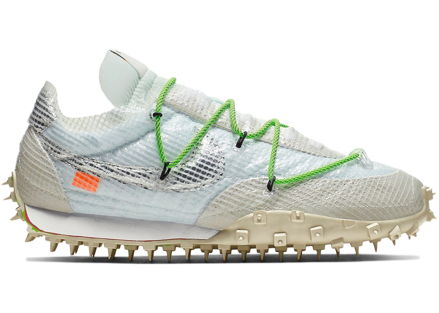 Nike Waffle Racer Off White White (W) by Stock X