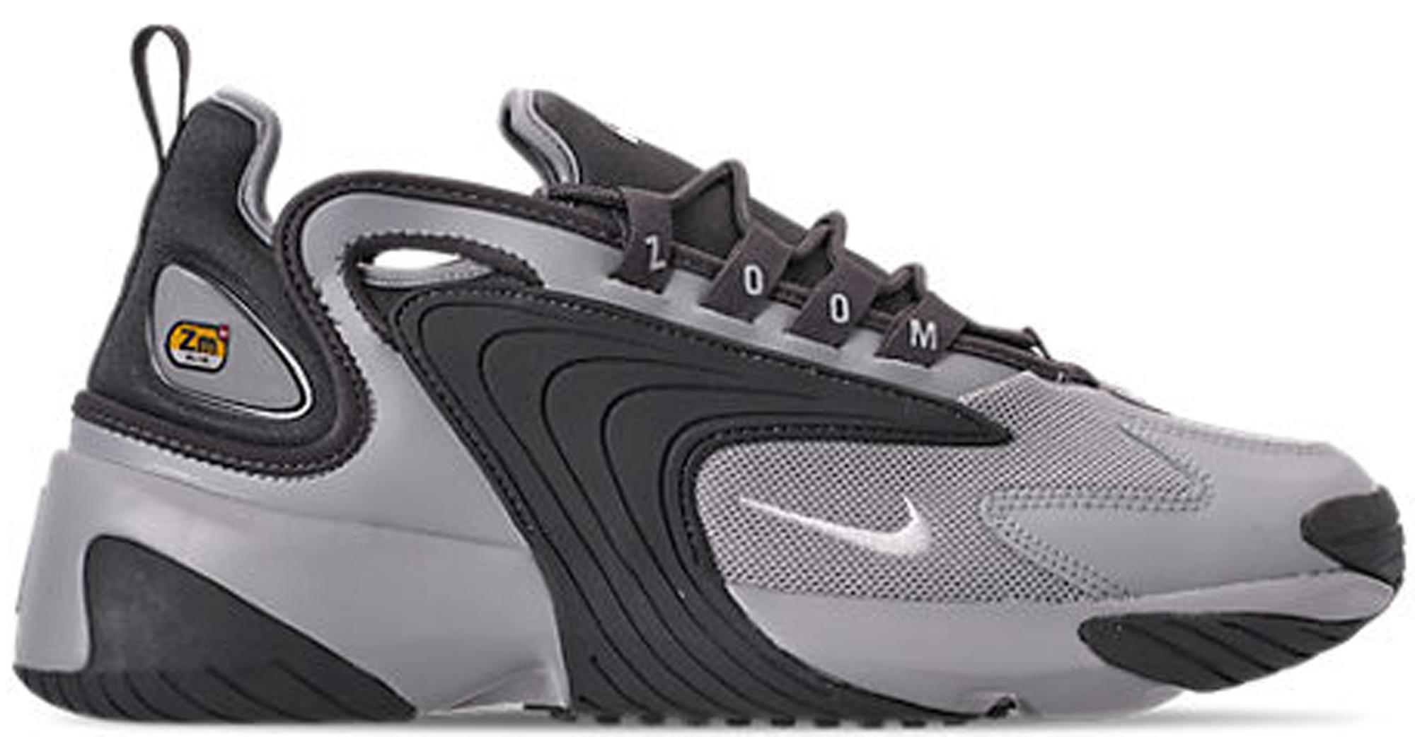 Nike Zoom 2k Wolf Grey Dark Grey Ao0269 001