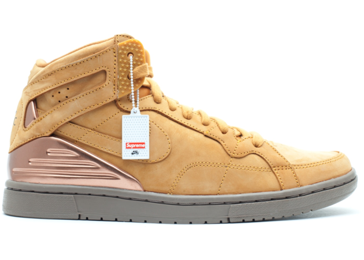 buy popular 18181 b2701 Nike Zoom Air 94 Hi Supreme Wheat