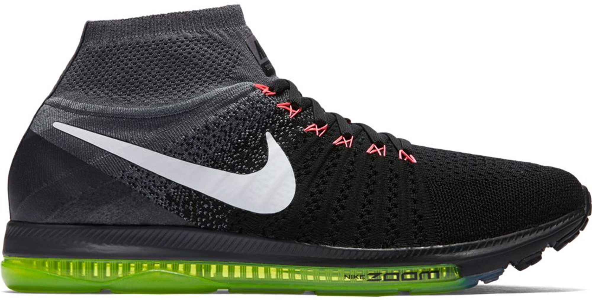 Nike Zoom All Out Flyknit Black White