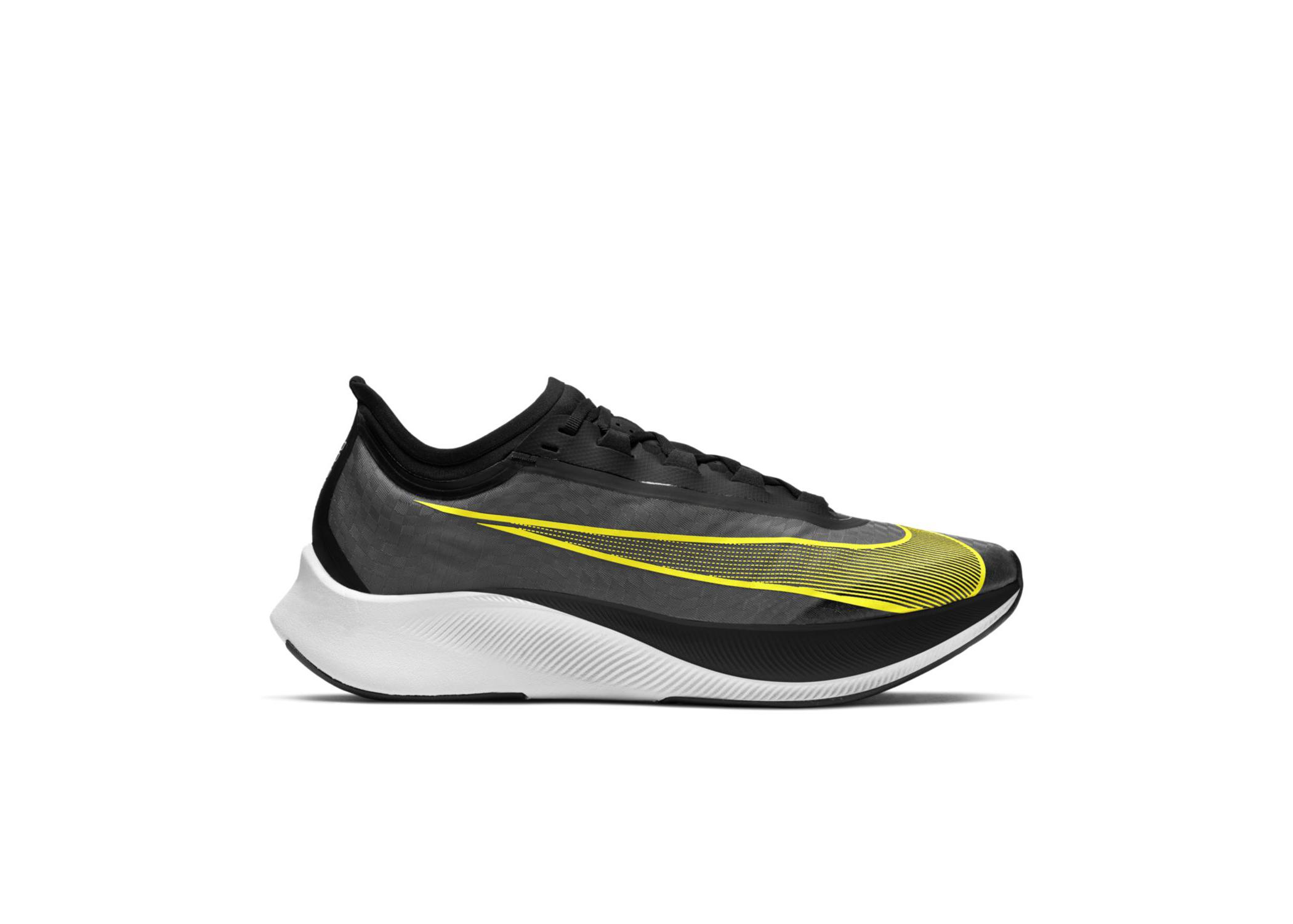 Nike Zoom Fly 3 Black Opti Yellow