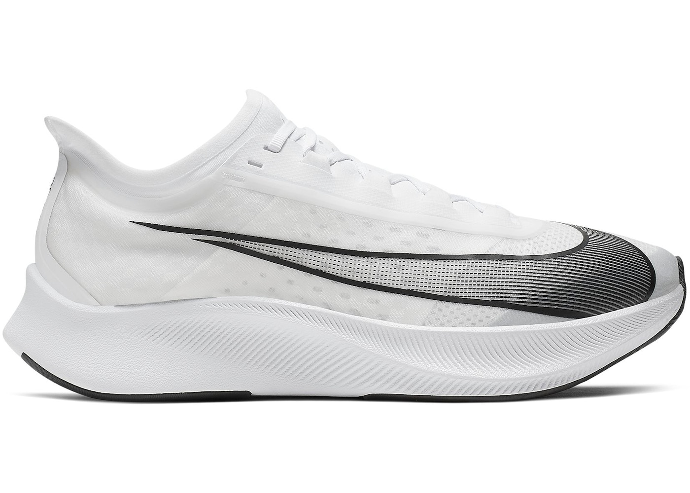 2e178ee1 Nike Zoom Fly 3 White Black - AT8240-100