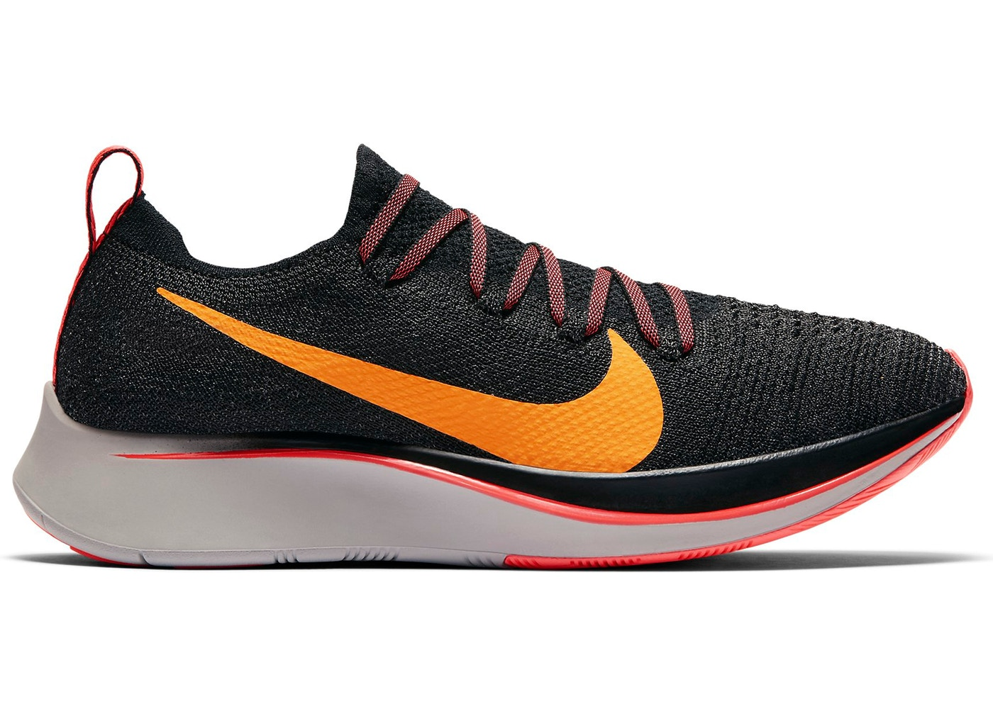 7c310ba5f6b2 Sell. or Ask. Size --. View All Bids. Nike Zoom Fly Flyknit Black Orange  Peel ...