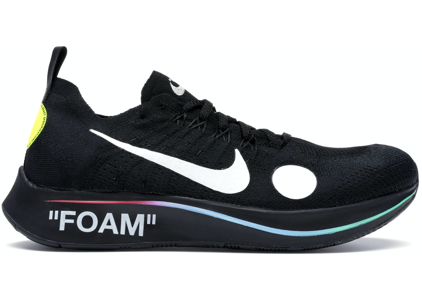 f9c0aa03b03f Nike Zoom Fly Mercurial Off-White Black - AO2115-001
