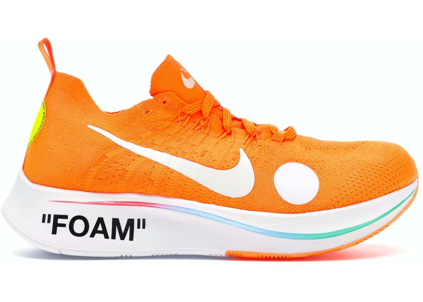 f14818015a1c3 Nike Zoom Fly Mercurial Off-White Total Orange - AO2115-800