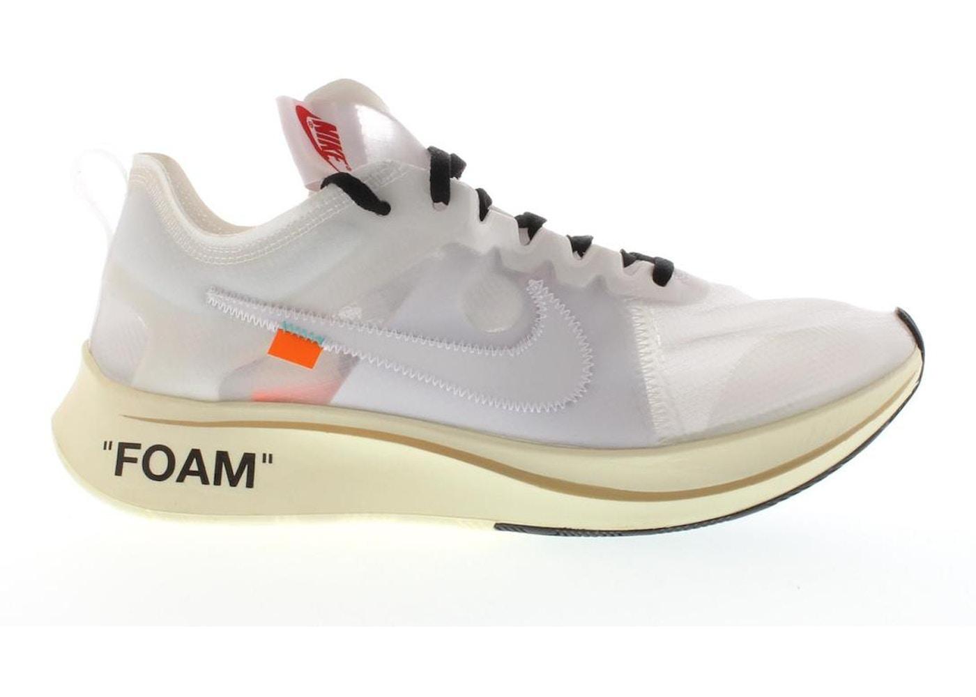 conversione bottiglia creativo  Nike Zoom Fly Off-White - AJ4588-100