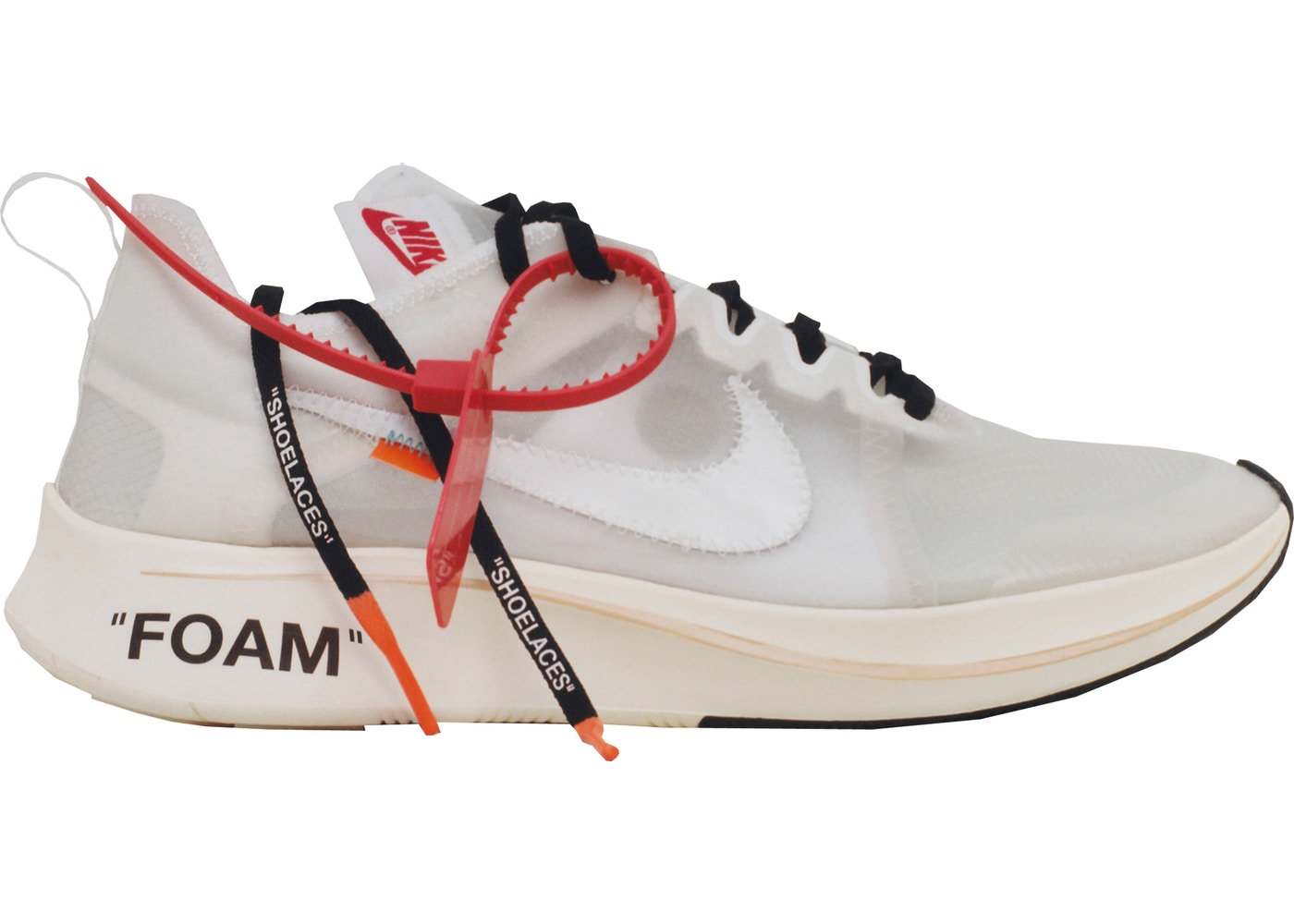 2fd8b35069ba Nike Zoom Fly Off-White - AJ4588-100