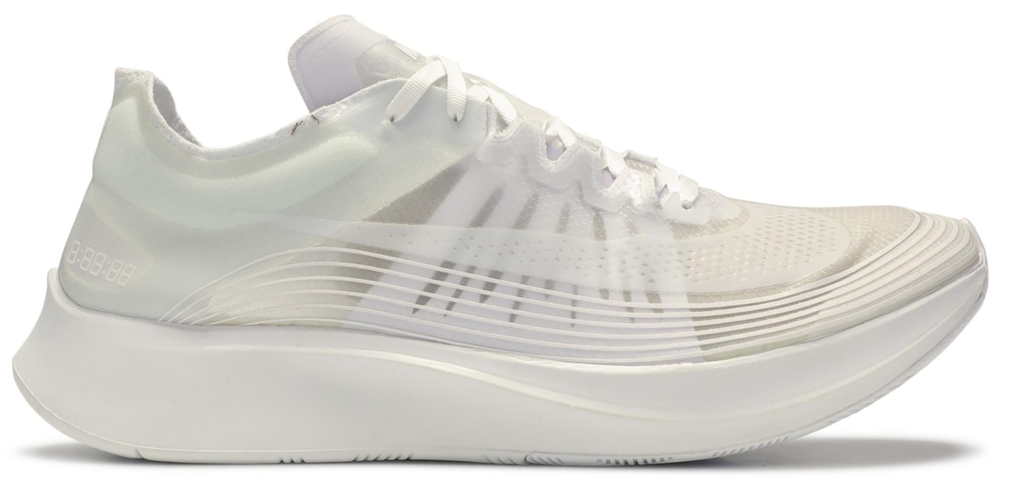 Nike Zoom Fly SP Triple White - BQ7024-100