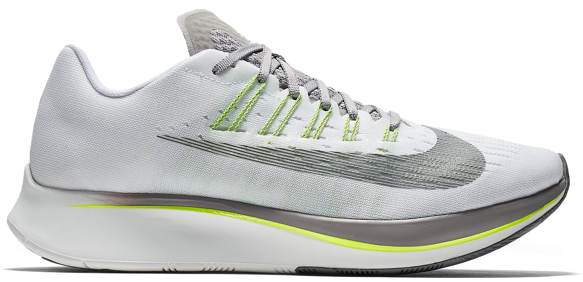 Nike Zoom Fly SP White Atmosphere Grey Volt (W)