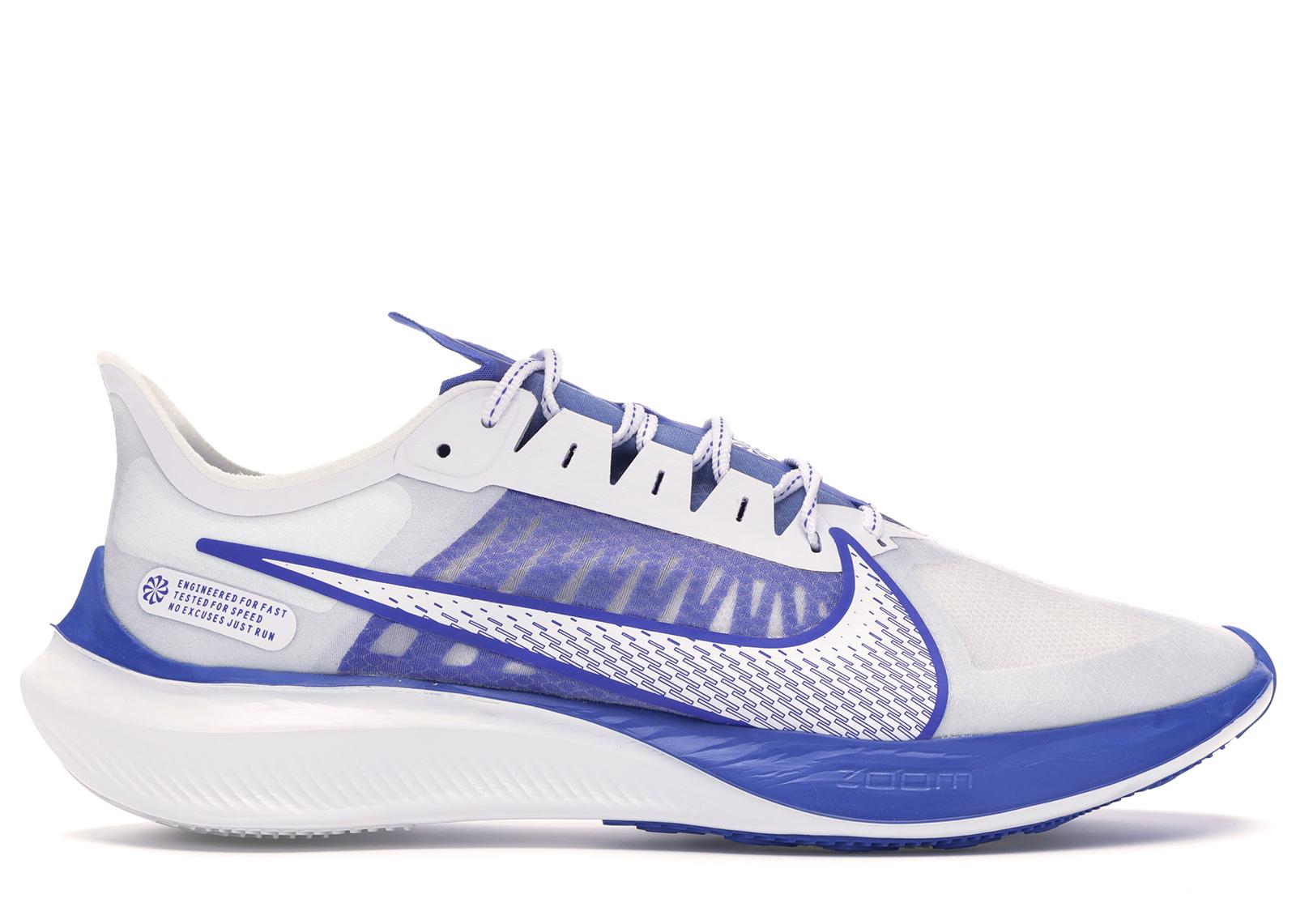 Nike Zoom Gravity White Racer Blue