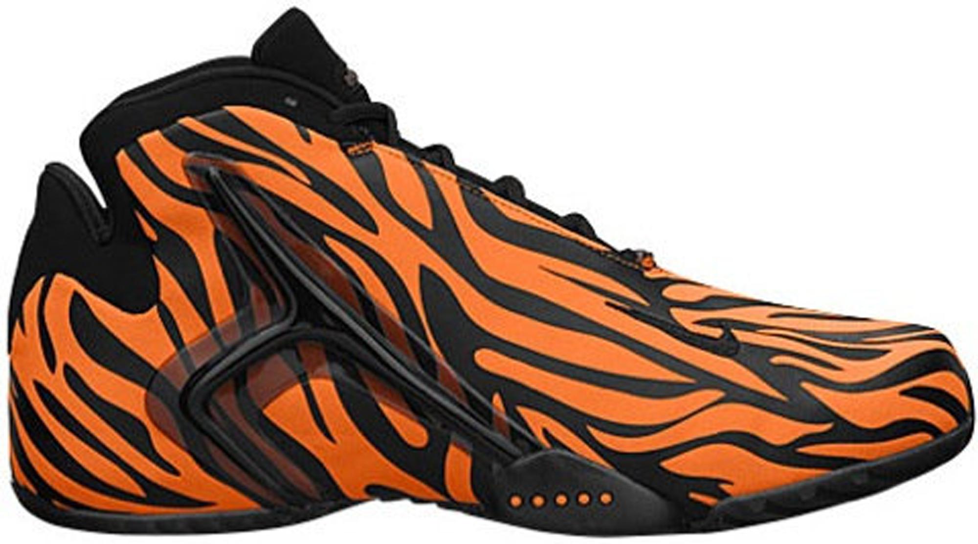 nike orange tiger