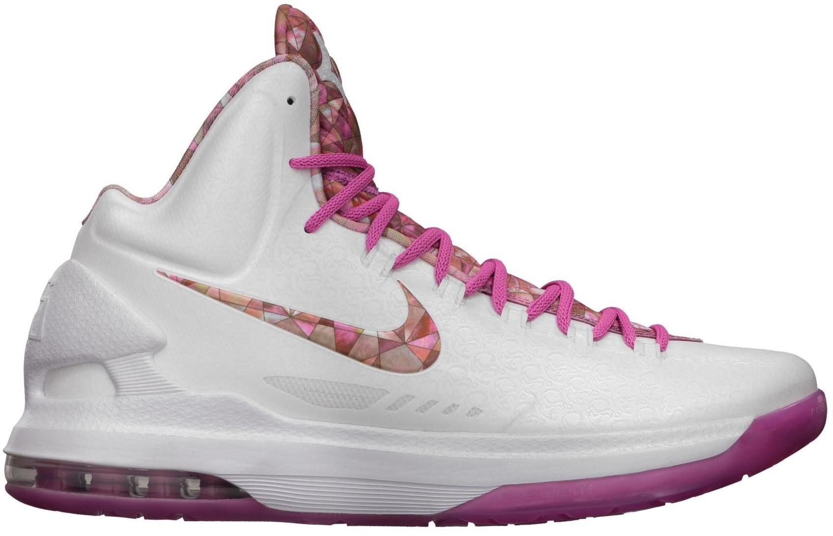 Nike KD 5 Aunt Pearl - 598601-100