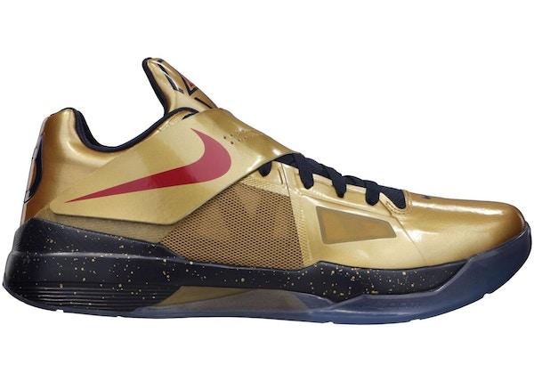 best website 8f573 ad146 Buy Nike KD 4 Shoes   Deadstock Sneakers