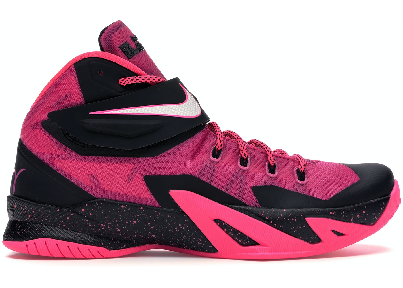 hot sale online 79435 e9b2e Zoom LeBron Soldier 8 Think Pink