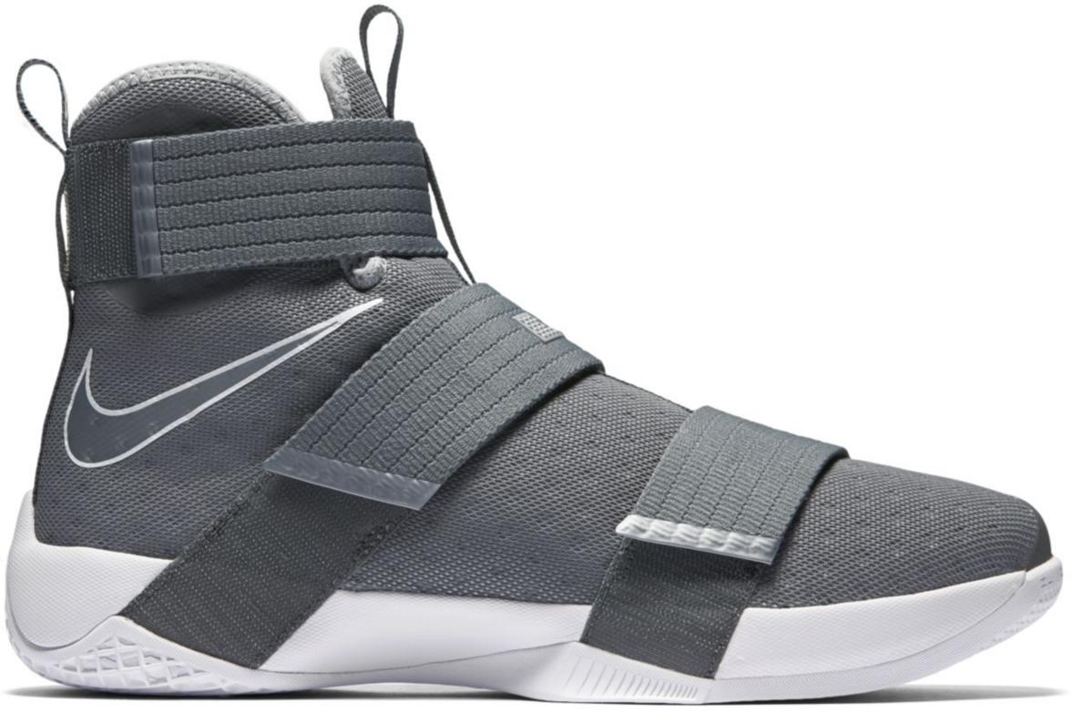 Nike LeBron Zoom Soldier 10 Cool Grey