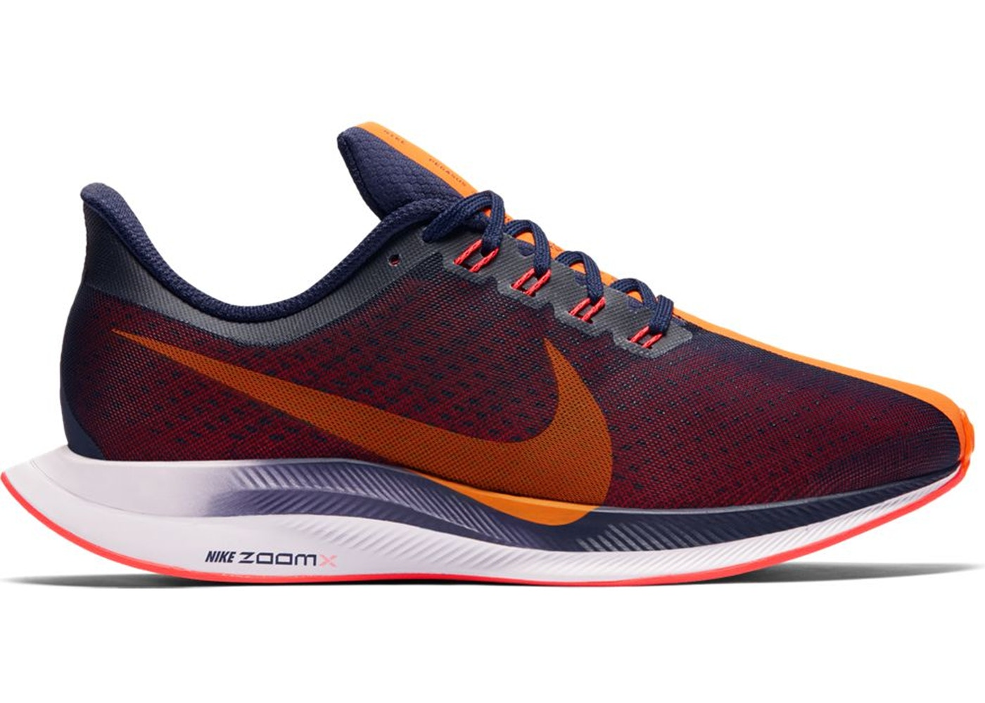 16d2ea3ebbc1 Nike Zoom Pegasus 35 Turbo Blackened Blue Orange Peel (W) - AJ4115-486