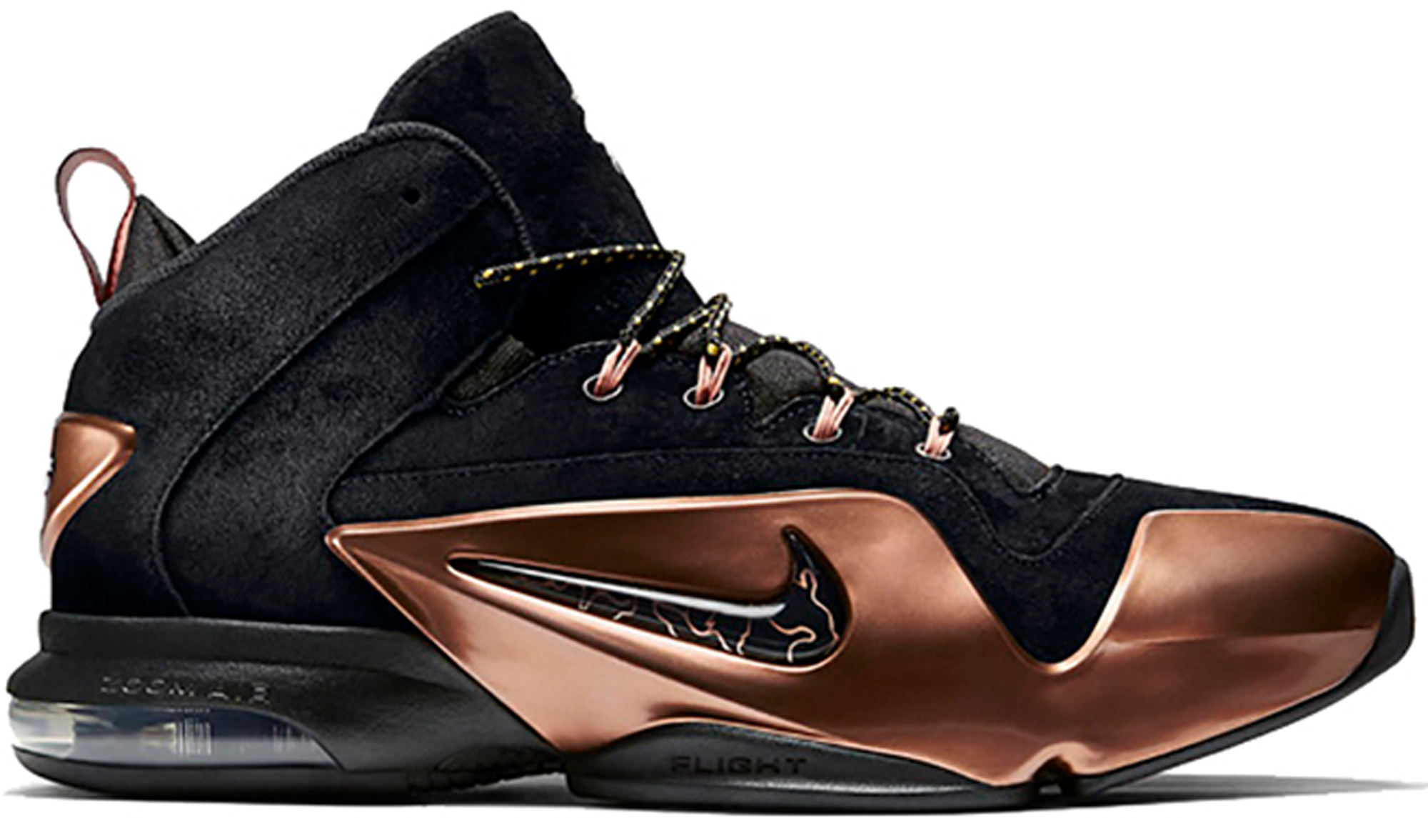 new style 8031b 6b565 09b3c d5433 purchase nike zoom penny 6 copper c7d7e 4ca66