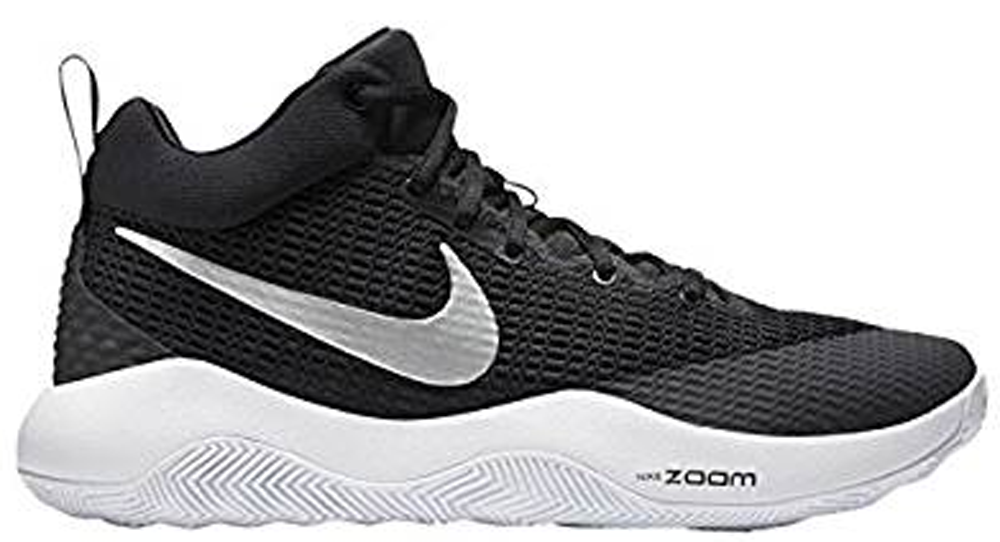 Nike Zoom Rev TB Black Metallic Silver